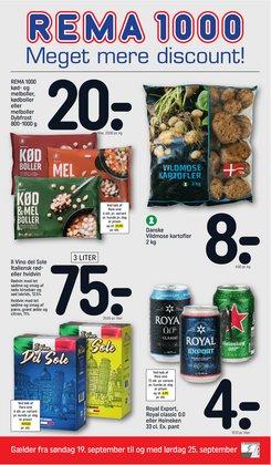 Tilbud fra Dagligvarer i Rema 1000 kuponen ( Udløber i dag)
