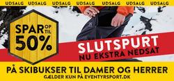 Tilbud fra Eventyrsport i København kuponen