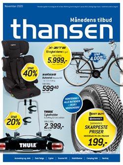 Biler og motor tilbud i Thansen kataloget i Silkeborg ( Over 30 dage )