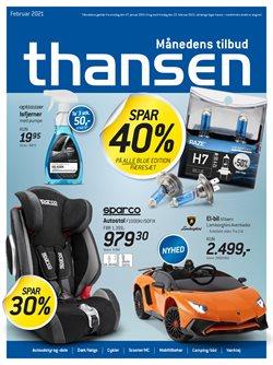 Thansen katalog ( Udgivet i går )