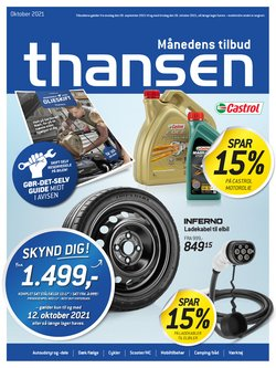 Thansen katalog ( 9 dage tilbage)