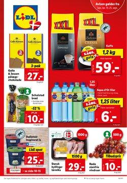 Tilbud fra Dagligvarer i Lidl kuponen ( Udløber i dag)