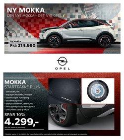 Biler og motor tilbud i Opel kataloget i Holstebro ( 24 dage tilbage )