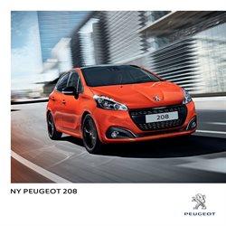 Biler og motor tilbud i Peugeot kataloget i København