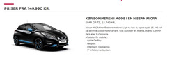Tilbud fra Nissan i København kuponen