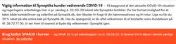 Synoptik kupon i Århus ( Udløber i morgen )