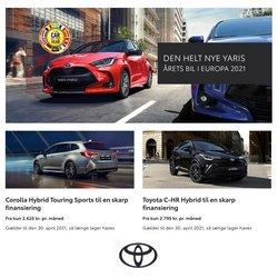Biler og motor tilbud i Toyota kataloget i Holstebro ( 11 dage tilbage )