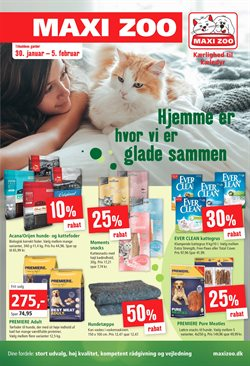 Maxi Zoo katalog i Odense ( Udløbet )