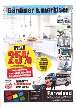 Tilbud fra Farveland i Farveland kuponen ( Udgivet i dag)