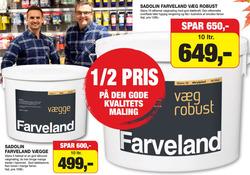 Tilbud fra Sadolin Farveland i Aalborg kuponen