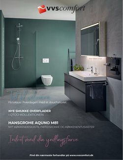Byggemarkeder tilbud i VVS Comfort kataloget i Holstebro ( Over 30 dage )