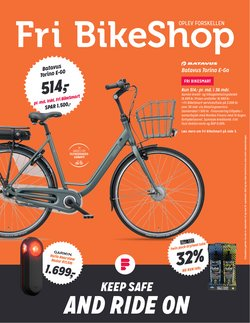 Tilbud fra Sport i Fri BikeShop kuponen ( Udløber i morgen)