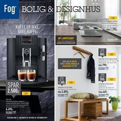 Hjem og møbler tilbud i Fog Bolig & Designhus kataloget i København