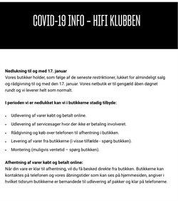 Hi-Fi Klubben katalog i København ( Udløbet )