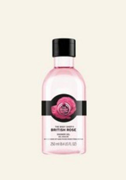 British Rose Shower Gel på tilbud til 20 kr.