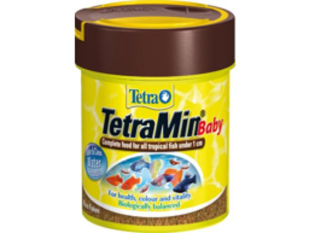 TETRA TETRAMIN BABY FISKEFODER på tilbud til 53,95 kr.