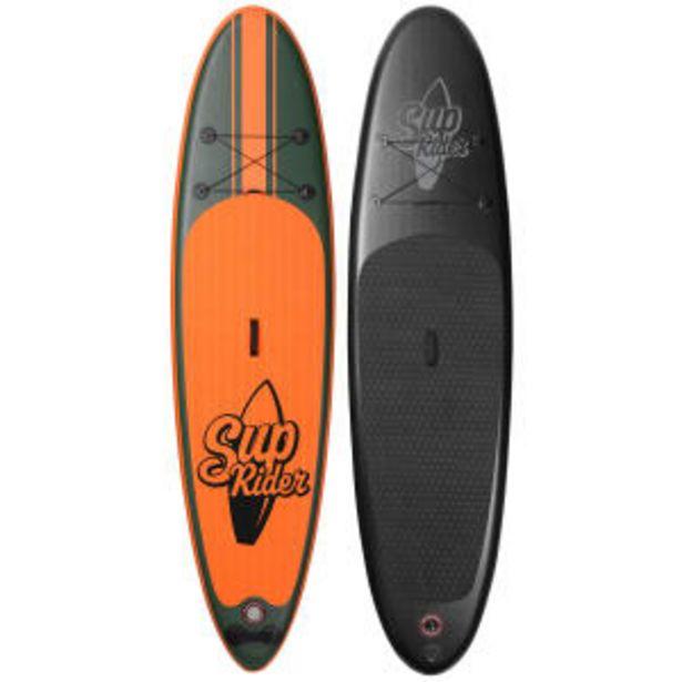 Sup-Rider paddleboard familiepakke - Mix - Sort/orange på tilbud til 3899 kr.