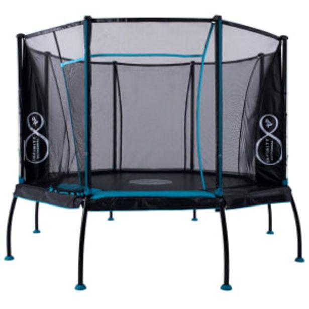 TP Infinity trampolin - Octagonal - 280 cm på tilbud til 4995 kr.