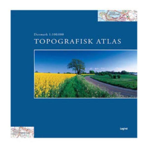 Topografisk Atlas Danmark - Indbundet på tilbud til 269,95 kr.