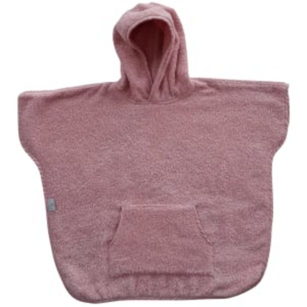 Baby Dan håndklædeponcho - Dusty rose på tilbud til 229,95 kr.