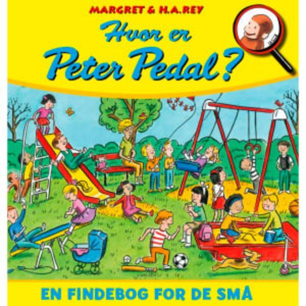 Hvor er Peter Pedal? - En findebog for de små - Indbundet på tilbud til 109,95 kr.