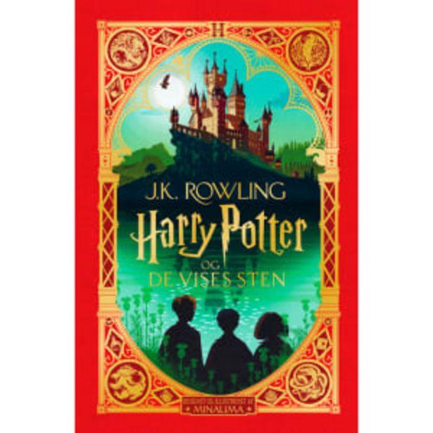 Harry Potter og De Vises Sten - Illustreret udgave - Indbundet på tilbud til 319,95 kr.