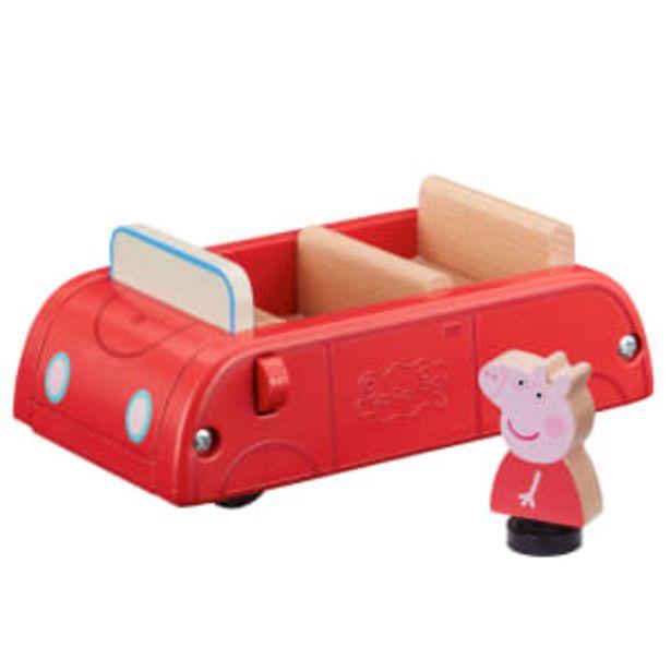 Gurli Gris bil i træ - World of Wood på tilbud til 149,95 kr.