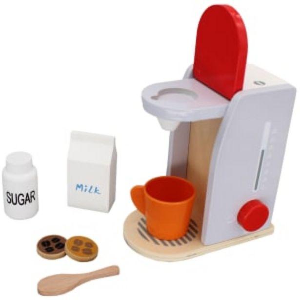 Wood Academy espressomaskine på tilbud til 99,95 kr.