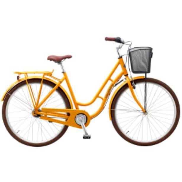 "Mustang Dagmar 28"" damecykel med 7 gear - Orange på tilbud til 2799 kr."