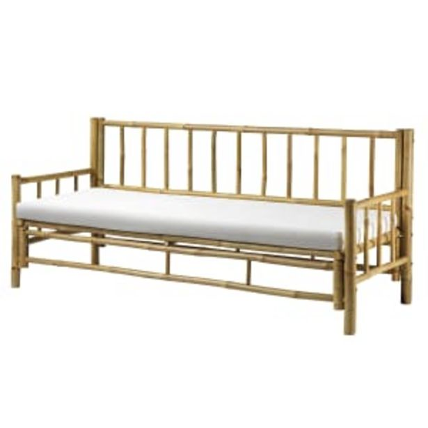 Living&more sofa i bambus - Danang på tilbud til 1799 kr.