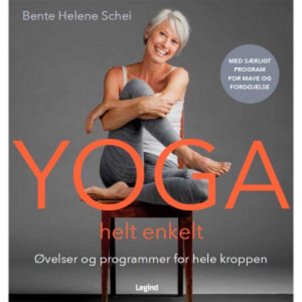 Yoga helt enkelt - Øvelser og programmer for hele kroppen - Indbundet på tilbud til 199,95 kr.