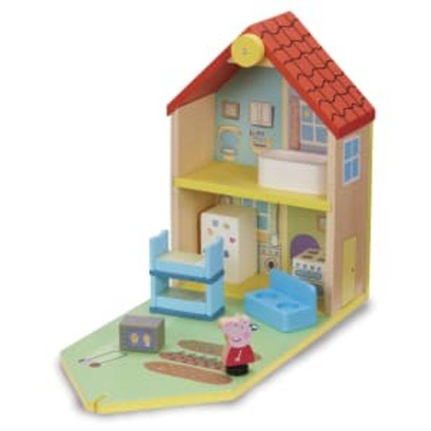 Gurli Gris dukkehus i træ - World of Wood på tilbud til 299,95 kr.