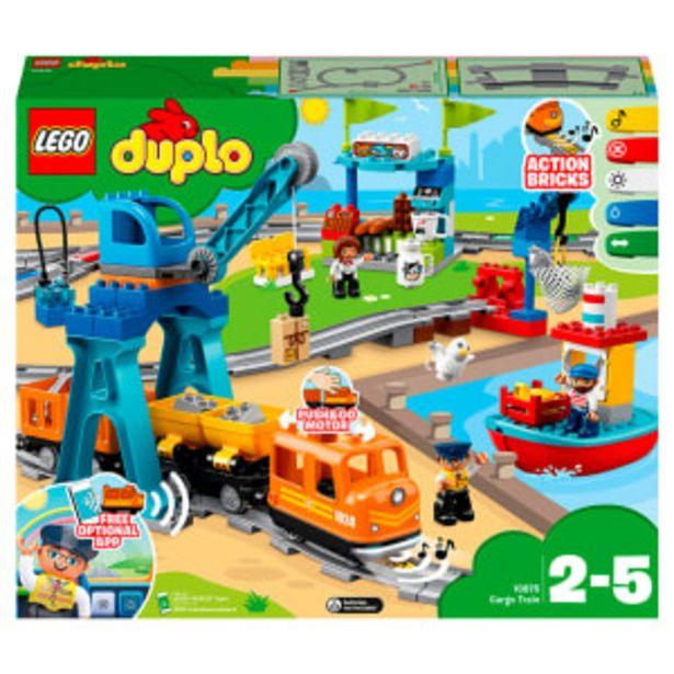 LEGO DUPLO Town godstog på tilbud til 899 kr.
