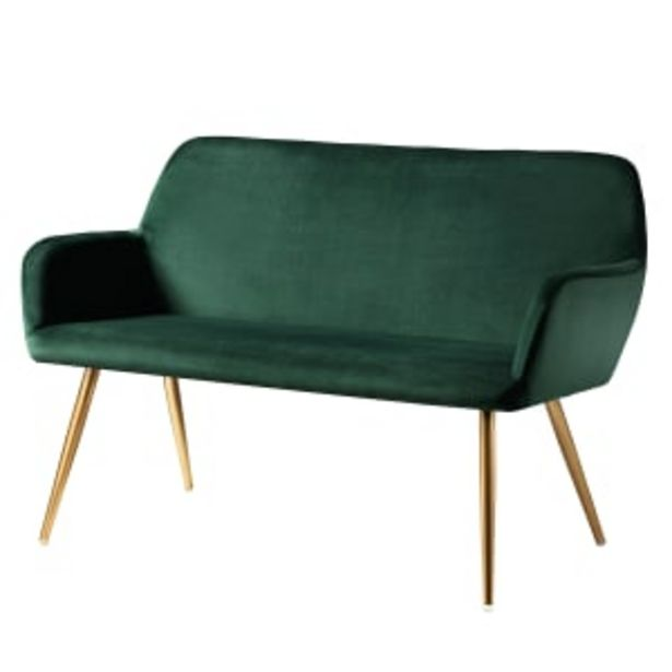 Living&more sofa - Emma - Grøn på tilbud til 1299 kr.