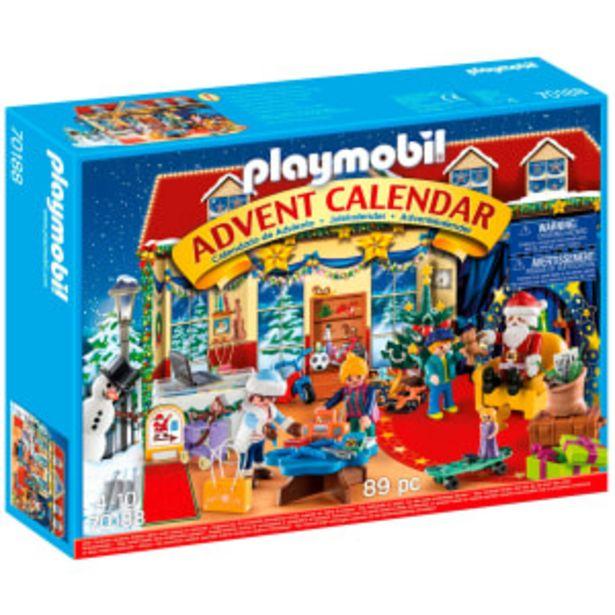 Playmobil adventskalender  - Jul i legetøjsbutikken på tilbud til 209,95 kr.