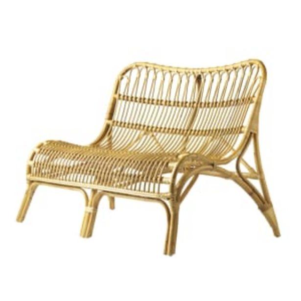 Living&more sofa - Manado - Natur på tilbud til 1299 kr.