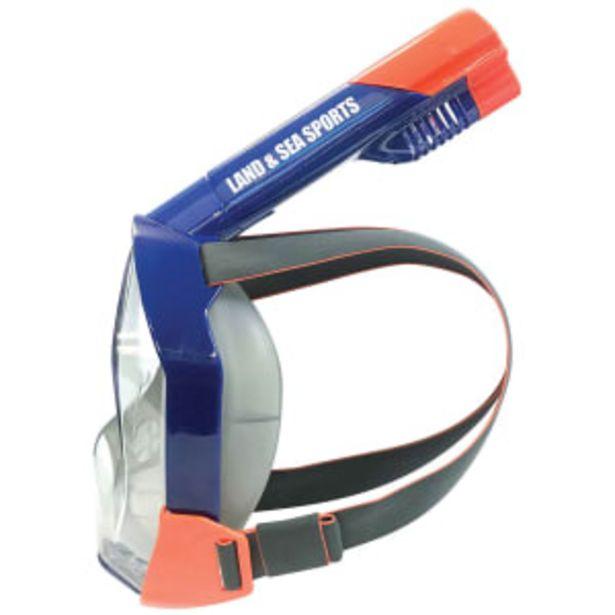 Land & Sea svømmemaske til voksne - Orpheus - Blå/orange på tilbud til 279,95 kr.