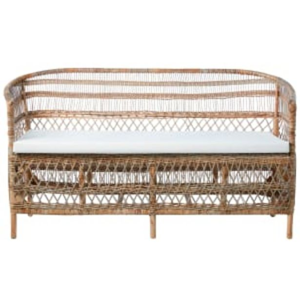 Lene Bjerre sofa i rattan - Norah på tilbud til 3499 kr.