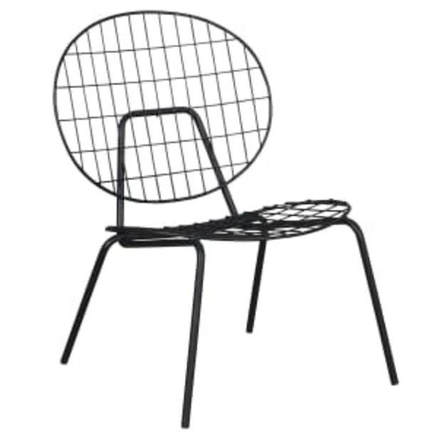 Matilda lænestol - Sort på tilbud til 399 kr.