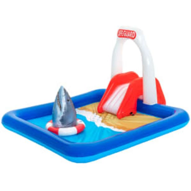 Bestway badebassin - Lifeguard Tower Pool Play Center - 276 liter på tilbud til 199,95 kr.