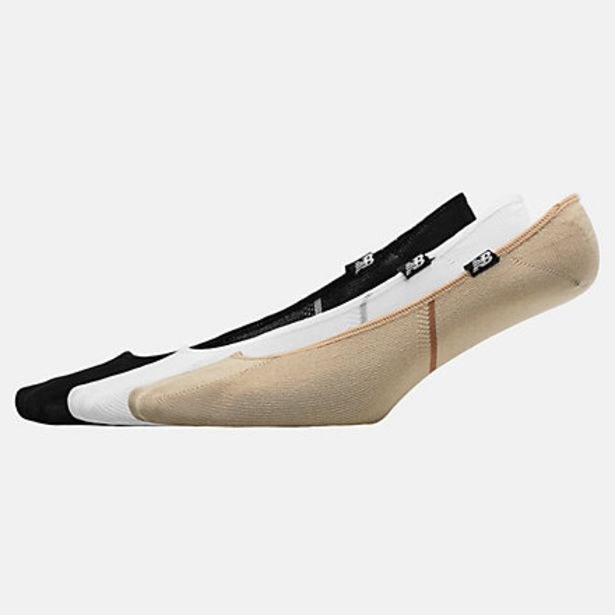 Ultra No Show Liner Socks 3 Pack på tilbud til 9,1 kr.