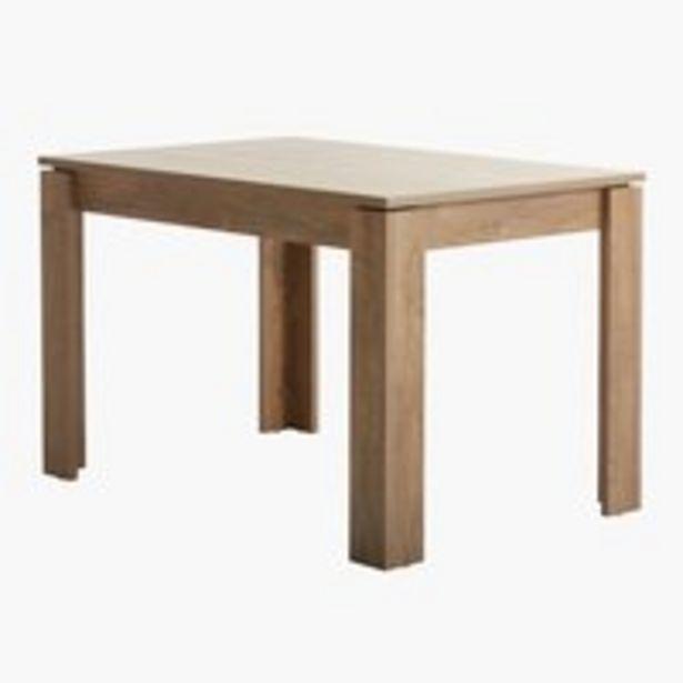 Spisebord VEDDE 80x120 eg på tilbud til 1199 kr.