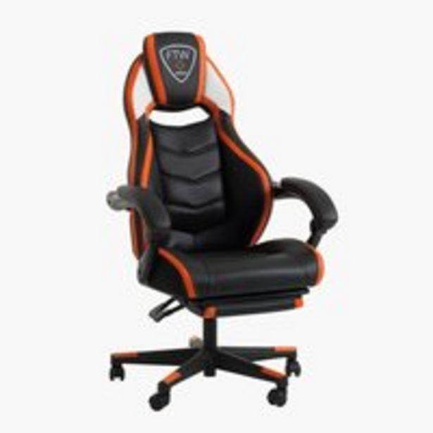 Gaming-stol GAMBORG sort/orange på tilbud til 1999 kr.