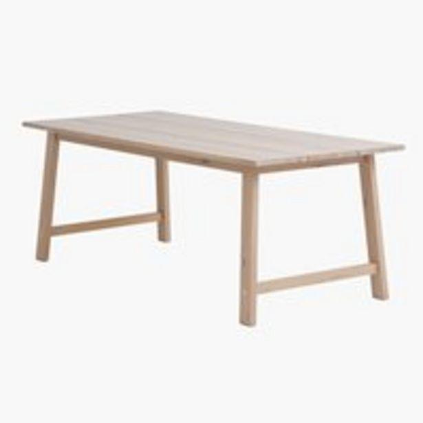 Spisebord GADESKOV 90x200 eg på tilbud til 3999 kr.