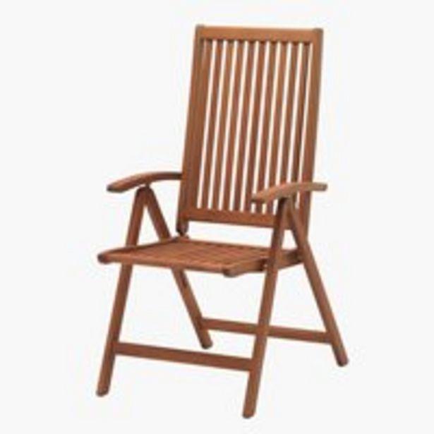 Positionsstol KAMSTRUP hårdttræ på tilbud til 699 kr.