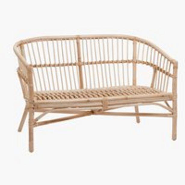 Sofa LISELEJE natur på tilbud til 1199 kr.