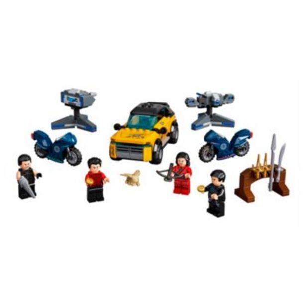 LEGO Marvel Escape from the Ten Rings Set 76176, Shang-Chi and the Legend of the Ten Rings på tilbud til 35 kr.