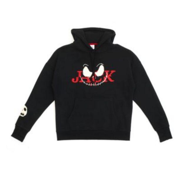 Disney Store Jack Skellington Hooded Sweatshirt For Adults på tilbud til 42 kr.