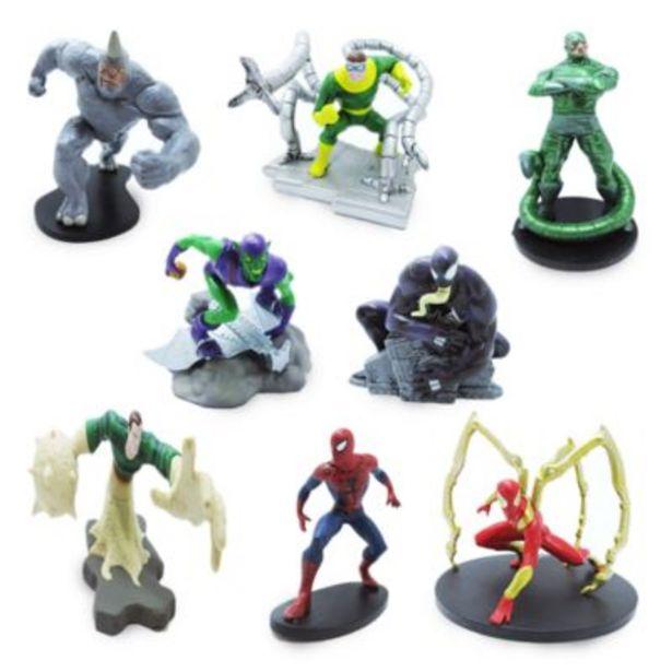 Disney Store Spider-Man Deluxe Figurine Playset på tilbud til 35,9 kr.