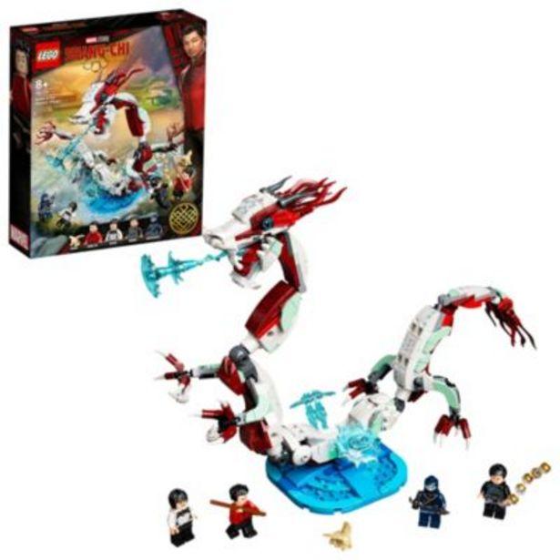 LEGO Marvel Battle at the Ancient Village Set 76177, Shang-Chi and the Legend of the Ten Rings på tilbud til 40 kr.